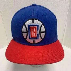 LA Clippers Mitchell & Ness NBA Snapback OSFA Hat